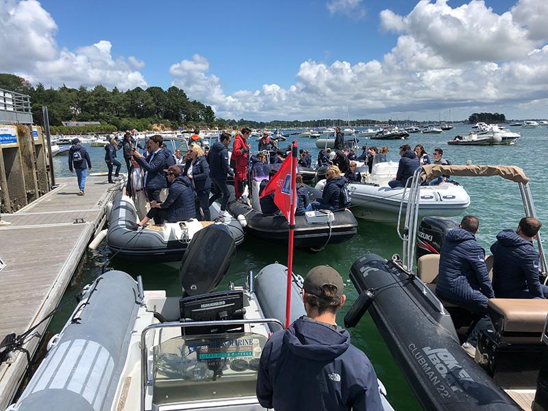Chasse au trésor bateaux Golfe du Morbihan