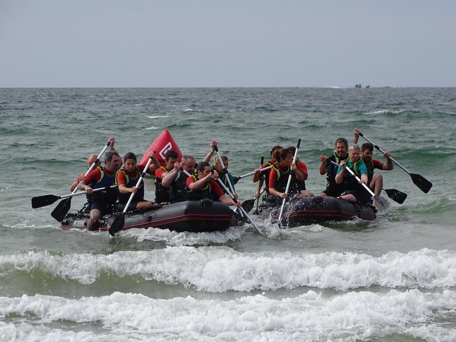 course de bateaux